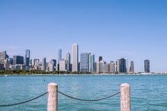 Chicago arkitektur Arkivfoton