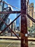 Chicago arkitektur arkivbild