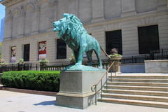 Chicago Art Institute Royalty Free Stock Photography