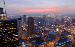 Free Chicago At Night Royalty Free Stock Photos - 4999908