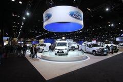 Chicago auto show. February 2011 Stock Photos
