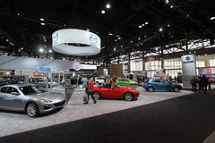Chicago auto show Royalty Free Stock Photo