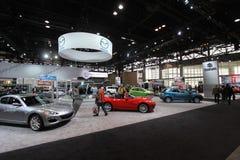 Chicago auto show. February 2011 Royalty Free Stock Photo