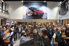 Chicago Auto Show Stock Photos
