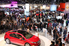 Chicago Auto Show Royalty Free Stock Image