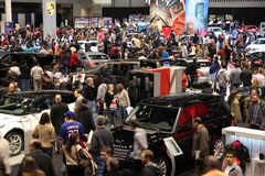 Chicago Auto Show royalty free stock images