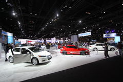 Chicago auto show 2011. Honda exposition at Chicago auto show Royalty Free Stock Image