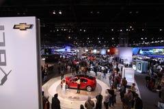 Chicago auto show 2011. 110-th auto show anniversary Stock Photo