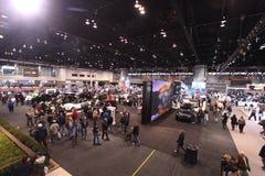 Chicago auto show 2011. 110-th auto show anniversary Stock Photography