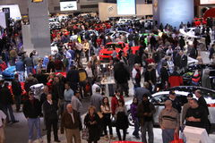 Chicago auto show 2011 Stock Images