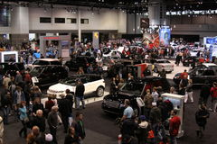 Chicago auto show 2011. Exposition of Chicago auto show Stock Photography