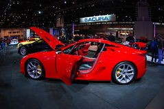 Chicago Auto Show 2012 Royalty Free Stock Images