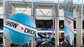 Chicago Auto Show (CAS) Entrance Royalty Free Stock Photography