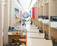 Chicago Auto Show Entrance, McCormick Place Royalty Free Stock Photo
