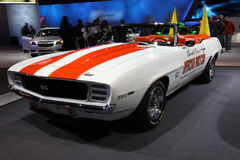 Chicago Auto Show pace car stock photography