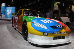 Chicago Auto Show race car Royalty Free Stock Photography