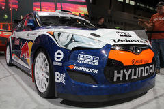 Chicago Auto Show race car Royalty Free Stock Photo