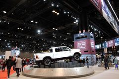 Chicago-Automobilausstellung 2018 Lizenzfreies Stockbild