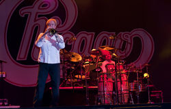 Chicago-Band-Felsen-Erscheinen Stockfotografie