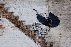 Chicago Banksy Buggy royalty free stock images