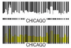 Chicago barcode Stock Photo