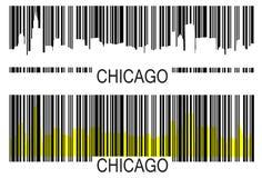 Chicago-Barcode Stockfoto