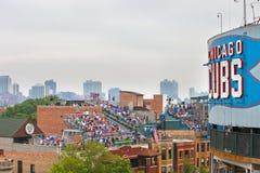 Chicago baseball Royalty Free Stock Image