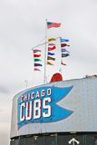 Chicago baseball Royalty Free Stock Photo
