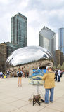 The chicago bean Stock Photography