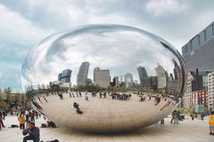 The chicago bean Royalty Free Stock Photography