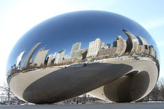 Chicago bean. Image of the famous Chicago Bean in Millennium Park