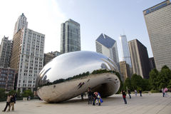 Chicago bean Stock Photo
