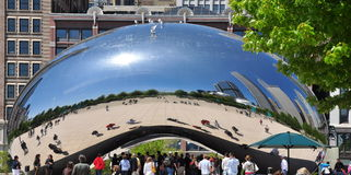 Chicago Bean  Royalty Free Stock Photos