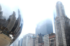 Chicago Bean Stock Image