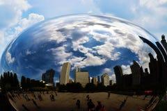 Chicago bean Stock Photo
