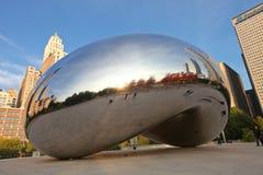 Chicago Bean during Autumn royalty free stock photos