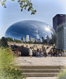 Chicago Bean, Millennium Park, Illinois Royalty Free Stock Photography