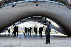 Chicago bean reflection Royalty Free Stock Photos