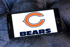 Chicago Bears american football team logo Royalty Free Stock Images