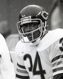 Chicago Bears di Walter Payton fotografie stock