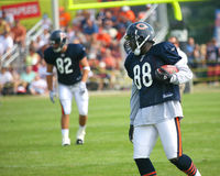 Chicago Bears players Royalty Free Stock Image