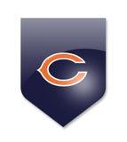 Chicago bears team. Chicago bears nfl team on white Stock Photos