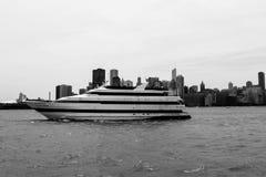 Chicago bij Meer Michican royalty-vrije stock afbeeldingen