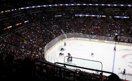 Chicago Blackhawks at Anaheim Ducks, 2/26/2012 Stock Photo