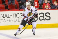 Chicago Blackhawks center Patrick Sharp Stock Photos