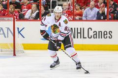 Chicago Blackhawks defenseman Duncan Keith Royalty Free Stock Photos