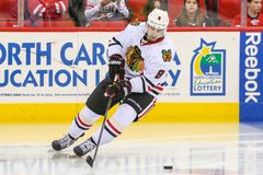 Chicago Blackhawks defenseman Nick Leddy Royalty Free Stock Photos