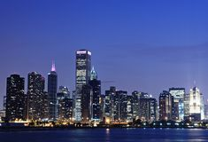 Chicago bleue Image stock