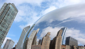Chicago böna Royaltyfri Fotografi