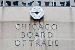 Chicago Board of Trade Royalty Free Stock Photos